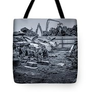 Last Journey - Salvage Yard Tote Bag