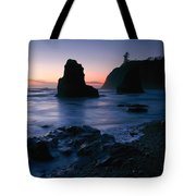 Last Light At Ruby Beach Tote Bag