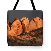 Last Light Valley Of Fire Tote Bag