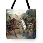 Last Meeting Of Lee And Jackson Tote Bag