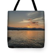 Last Moment Of The Day Tote Bag