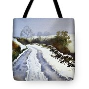 Last Of The Snow Tote Bag