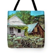 Last Post Office And Ice House Tote Bag