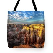 Last Rays Of Daylight Tote Bag