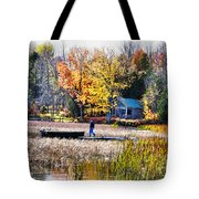Last Ride Of The Season Tote Bag