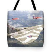 Last Royal Escort - Avro Vulcan Tote Bag