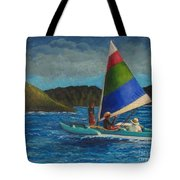 Last Sail Before The Storm Tote Bag