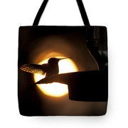 Last Sip At Sunset Tote Bag