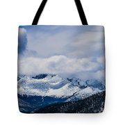 Last Snow Tote Bag