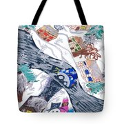 Last Snowman Of The Season Tote Bag