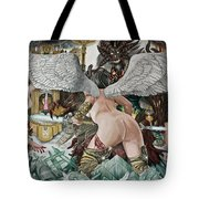 Last Stand In Heaven Tote Bag
