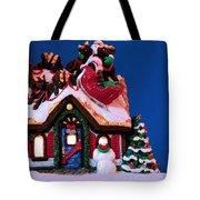 Last Stop For Santa Tote Bag