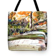 Last Summer In Brigadoon Tote Bag by Kip DeVore