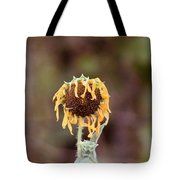 Last Sunflower Tote Bag