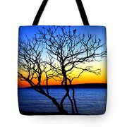 Last To Leave Tote Bag