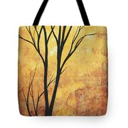 Last Tree Standing By Madart Tote Bag