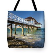 Late Afternoon At Kamalame Cay Tote Bag