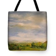 Late Afternoon In Vermont  Tote Bag