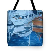 Late Afternoon Reflections Tote Bag by Jenny Armitage