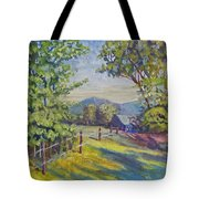 Late Afternoon Shadows Tote Bag