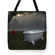 Late At Night... - Tard Le Soir... Tote Bag