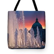 Late Evening At The Amalie Garden Tote Bag