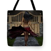 Late Evening Stroll Tote Bag