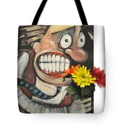Late For A Date Tote Bag