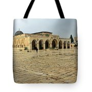 Late For Prayer Tote Bag
