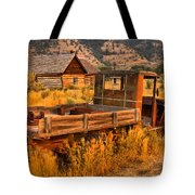 Late For The Rush Tote Bag