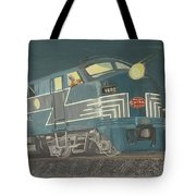 Late Night On The New York Central Tote Bag