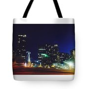 Late Night Seattle  Tote Bag