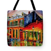Late On Bourbon Street Tote Bag