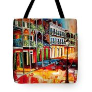 Late On Royal Street Tote Bag