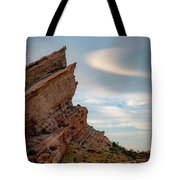 Late On Vasquez Rocks By Mike-hope Tote Bag