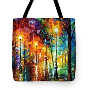 Late Stroll Tote Bag