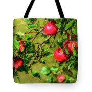 Late Summer Apples Tote Bag