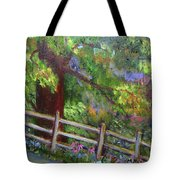 Late Summer At Pennypack Preserve Tote Bag