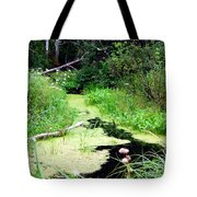 Late Summer At The Creek Tote Bag