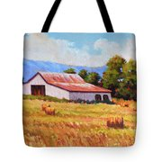 Late Summer Hay Tote Bag