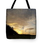 Late Summer Morning Tote Bag