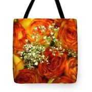 Late Summer Roses Tote Bag
