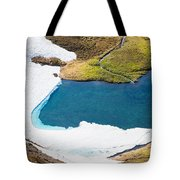 Late Thawing Tarn Tote Bag
