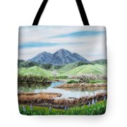 Late Winter In California Tote Bag