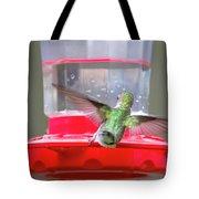 Later Hummingbird Tote Bag