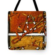 Later In The Morning Abstract Tote Bag