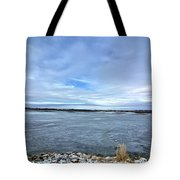 Later Winter Ice 3 Tote Bag