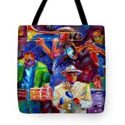 Latin Jazz Tote Bag