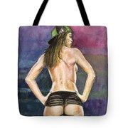 Latina Gangsta Girl 2  Tote Bag