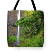 Latourell Falls Oregon Tote Bag